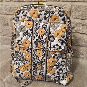 9786a6dba4 Vera Bradley Bags - Vera Bradley Small Back Pack Purse Yellow Floral